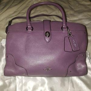 NWOT- Coach mercer satchel 30 Bagin grain leather